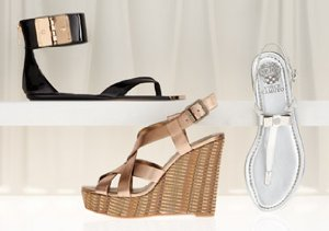 Heavy Metals: Shimmery Shoes & Bags