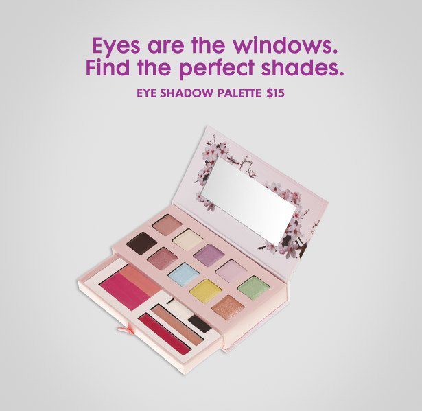 Eyes are the windows. Find the perfect shades.