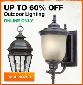 UP to 60% OFF Outdoor Lighting