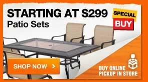 Starting at $299 Patio Sets