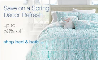 Save on a Spring Decor Refresh up to 50% off. Shop bed & bath.