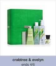 crabtree & evelyn -- ends 4/6