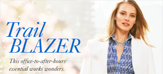 TRAIL BLAZER This office-to-after-hours essential works wonders.