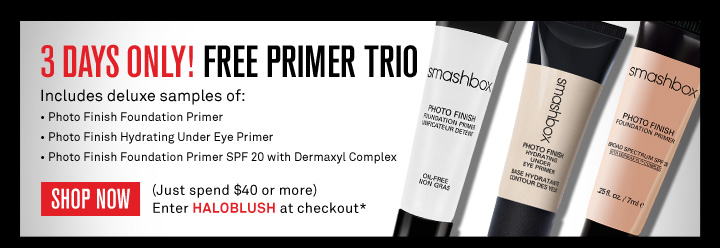 3 Days Only! Free Primer Trio