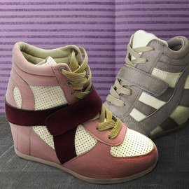 Step on It: Girls' Sneakers