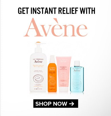 Get Instant Relief with Avene. Save Now>>
