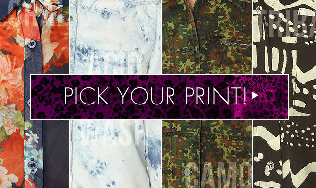 New Prints on Miss KL: Army, Floral, Tie-Dye and More!
