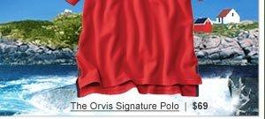 The Orvis Signature Polo  |  $69