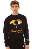 <b>Diamond Supply Co.</b><br />The Cable Car Crewneck Sweatshirt in Black