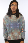 <b>DNA</b><br />The DNA x Karmaloop Crew Sweatshirt in Nebula