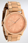 <b>Flud Watches</b><br />The Moment Watch in Rose Gold Linked