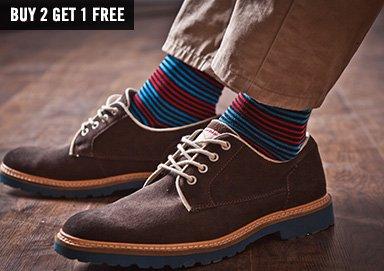 Shop Patterned Socks ft. Ben Sherman