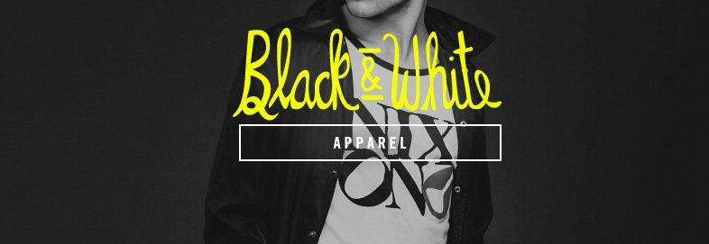 Shop Black & White: Apparel & Accessories