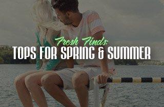 Fresh Finds: Tops For Spring & Summer