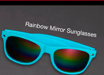RAINBOW MIRROR SUNGLASSES