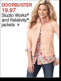 19.97 Studio Works® and Relativity® jackets
