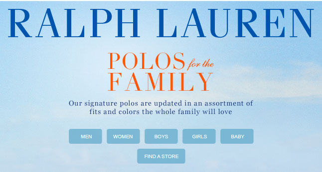 Polos for the Family