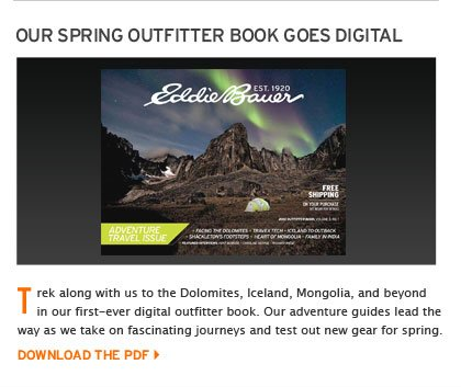 Spring Outfitter Book