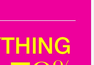 Going On Now: EVERYTHING 50%-70% OFF + Free Shipping!