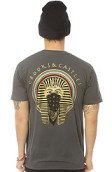 <b>Crooks and Castles</b><br />The Pharoah Tee in Heather Charcoal