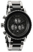 <b>Nixon</b><br />The 42-20 Chrono Watch in Gunmetal & Black Acetate
