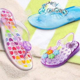 Turn to Jelly: Girls' Sandals
