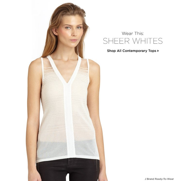 Shop All Contemporary Tops