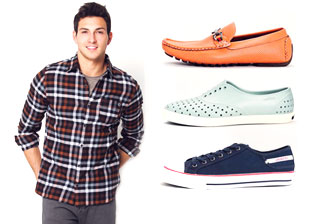 $39 & under: Apparel & Shoes for Him