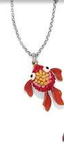 Marine Marvels Goldfish Necklace