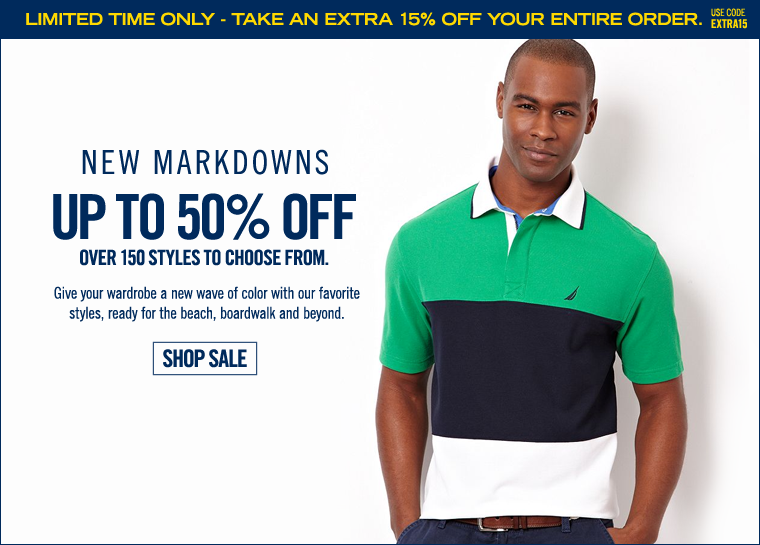 New Markdowns - Up to 50% off!