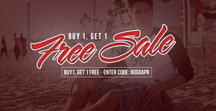 Buy 1, Get 1 Free Sale