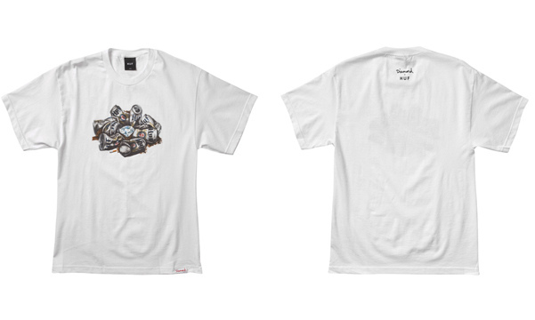 Group_Diamond_In_The_Huf_Tee_White