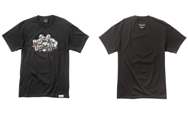 Group_Diamond_In_The_Huf_Tee_Black