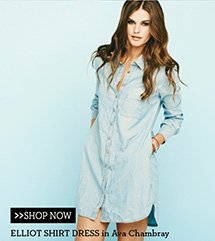 Elliot Shirt Dress