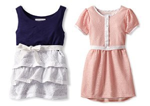Solid Style: Girls' Spring Dresses