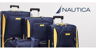 Shop Nautica Downhaul 4 Pc Luggage Set