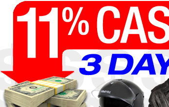 11% CASH BACK - 3 Days only!