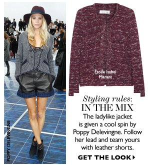 STYLING RULES: IN THE MIX