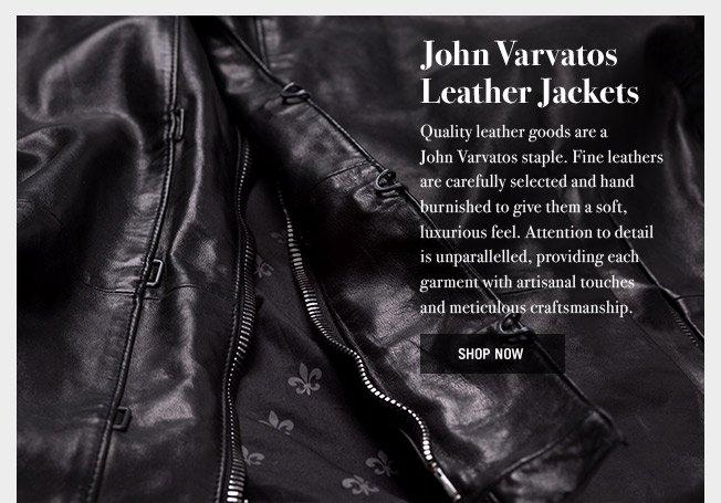 John Varvatos Leather Jackets