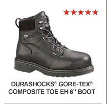 """Durashocks GORE-TEX Composite Toe EH 6"""""""