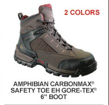 Amphibian Carbonmax Safety Toe EH GORE-TEX 6""