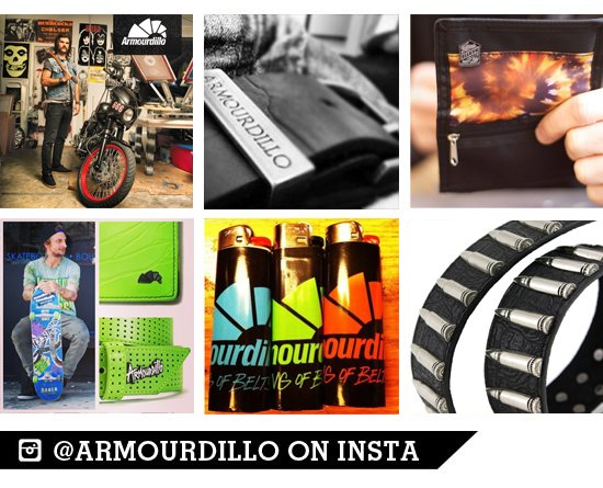 @Armourdillo on Instagram