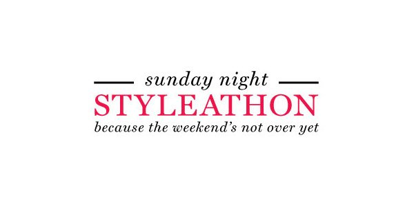 Sunday Night Styleathon Starts at 8PM ET