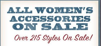 All Women's Accessories on Sale Save on Over 229 Styles