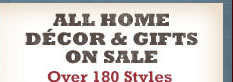 All Home Decor & Gifts on Sale