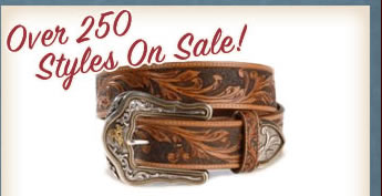 All Men's Belts on Sale
