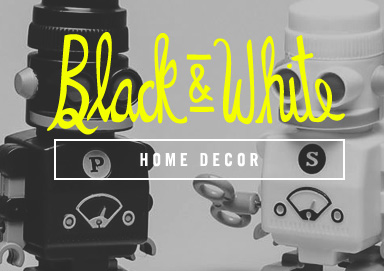 Shop Black & White: Home Decor