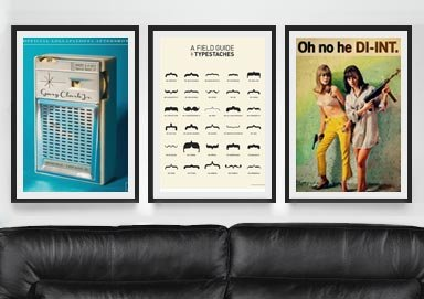 Shop Posters ft. Movies, Cities & More