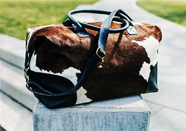 Shop Bags ft. New Cowhide Duffels