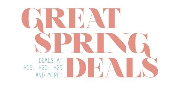Great Deals Under $25